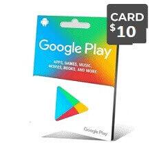 گوگل پلی 10 دلاری -گیفت مکس