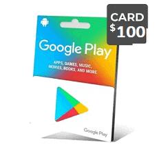 گیفت کارت گوگل 100 دلار - گیفت مکس