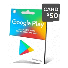 گیفت کارت گوگل 50 دلار - گیفت مکس