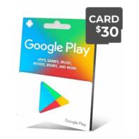 گیفت کارت گوگل 30 دلار - گیفت مکس