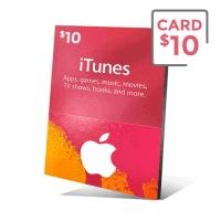 گیفت کارت آیتیونز 10 دلار - گیفت مکس