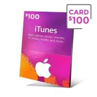 گیفت کارت آیتیونز 100 دلار - گیفت مکس