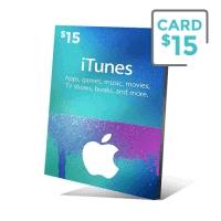 گیفت کارت آیتیونز 15 دلار - گیفت مکس