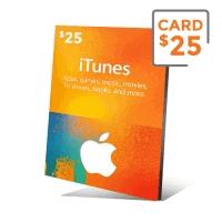 گیفت کارت آیتیونز 25 دلار - گیفت مکس