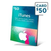 گیفت کارت آیتیونز 50 دلار - گیفت مکس