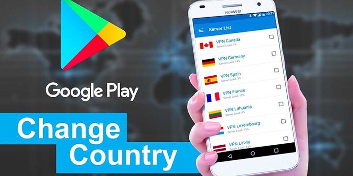 آموزش تغییر کشور محل سکونت در اکانت گوگل به آمریکا