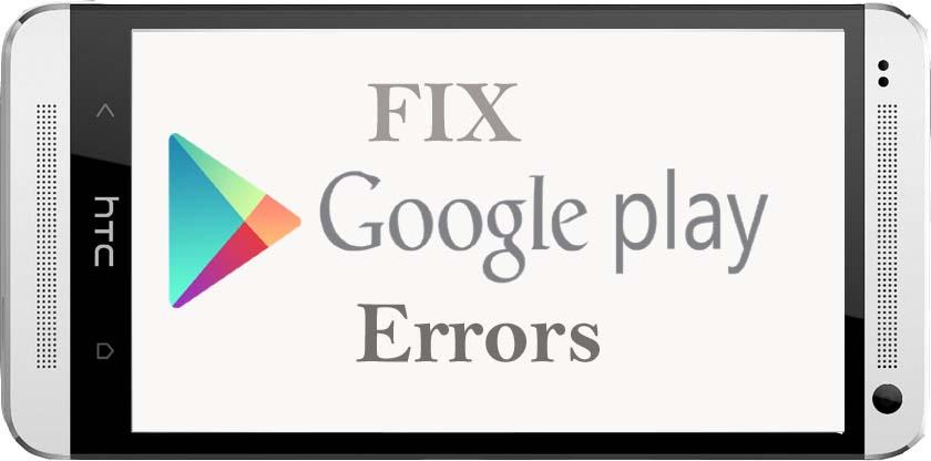 حل مشکل پیغام خطاهای رایج گوگل پلی استور اندروید