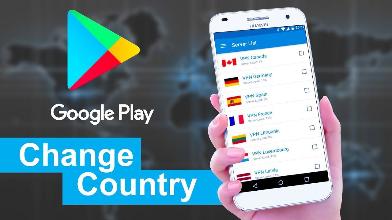 آموزش تغییر کشور و اضافه کردن آدرس به اکانت گوگل پلی