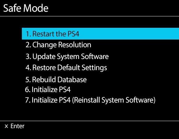 حل مشکل بالا نیامدن PS4 و آموزش روش های بوت کردن مجدد آن