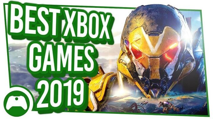 بهترین بازی های ایکس باکس وان سال ۲۰۱۹