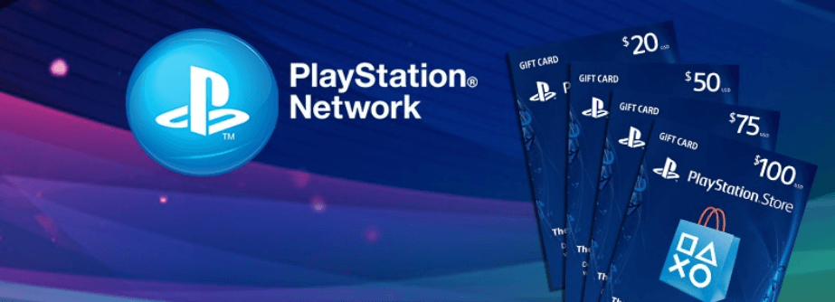 خرید گیفت کارت پلی استیشن PS4 – PSN امریکا