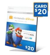 گیفت کارت نینتندو 20 دلاری - گیفت مکس