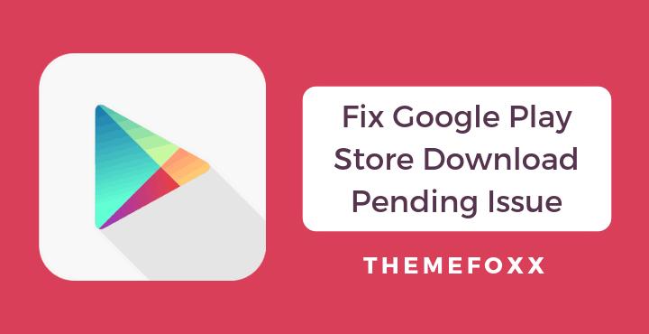 آموزش رفع خطای Download pending درپلی استور گوگل پلی