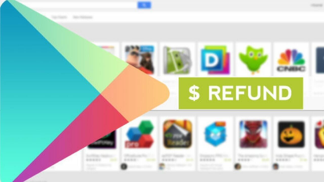 آموزش نحوه پس گرفتن (Refund) پول خرج شده در گوگل پلی