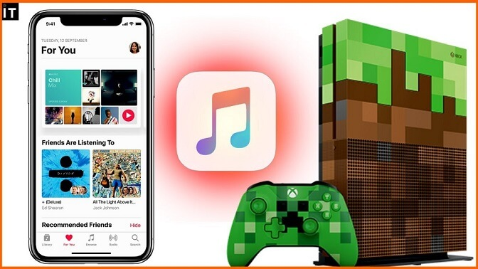 آموزش استفاده از Apple Music بر روی ایکس باکس One 2020